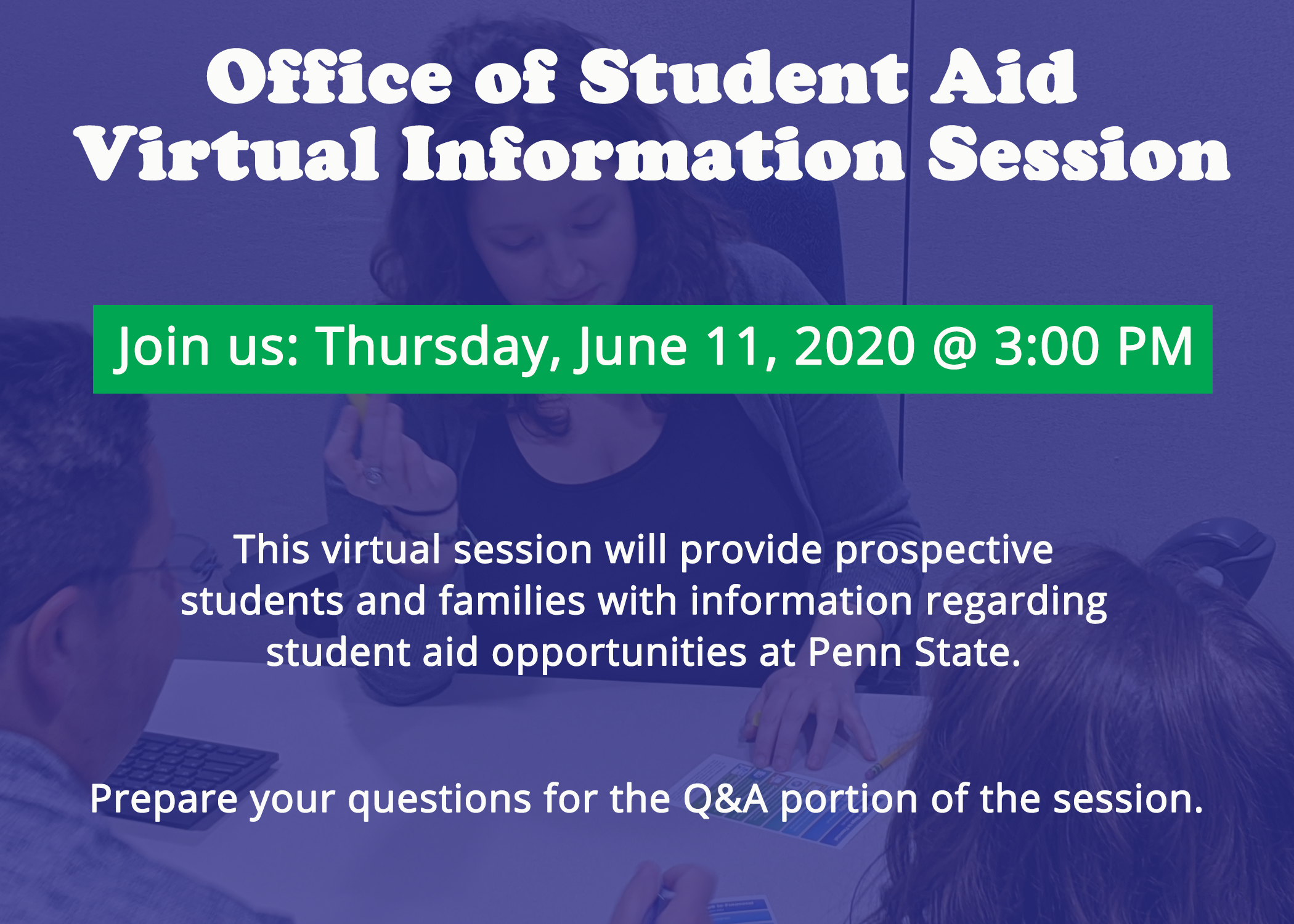 Student Aid Virtual Information Session