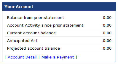 Image of Account Detail